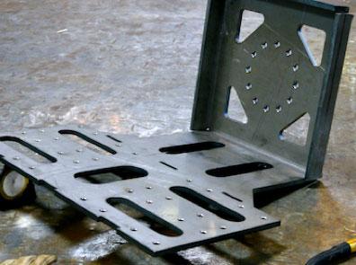 welded piece