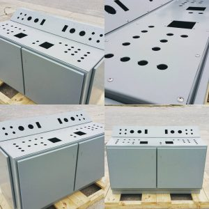 Custom Console Electrical Enclosure